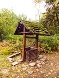 Lantlig springbrunn Royaltyfri Fotografi