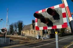 Lantlig station. Fotografering för Bildbyråer