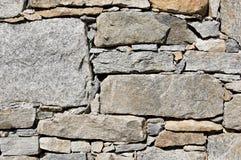 lantlig stenvägg Fotografering för Bildbyråer