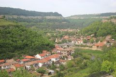 lantlig town Arkivbilder