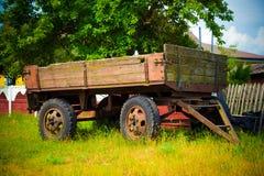 Lantlig vagn Royaltyfri Foto