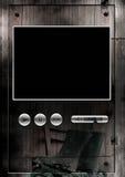 lantlig video rengöringsduk för spelare Fotografering för Bildbyråer