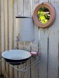 Lantlig wc Royaltyfri Fotografi