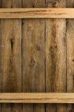 Lantlig wood bakgrund Royaltyfri Foto
