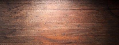 Lantlig Wood banerbakgrund Royaltyfri Fotografi