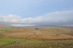 Lantliga Cumbria lakeområdet England Arkivbild