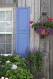 lantliga fönster för ladugård royaltyfri foto