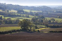 Lantliga Gloucestershire Royaltyfri Foto