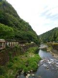 lantliga japan Arkivfoto