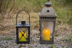 Lantliga lampor Royaltyfri Fotografi