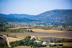 Lantliga Provence, Frankrike Arkivbild