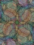 lantliga texturer för jordnära modell Arkivfoton
