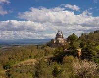 Lantliga Tuscany Royaltyfria Bilder