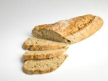 Lantligt bröd med frö Arkivbilder