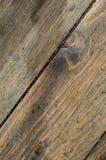 Lantligt golv av icke-målad plankacloseupbakgrund Arkivfoto