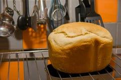 Lantligt hemlagat bröd Arkivbilder