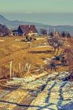 lantligt landskap Arkivfoton