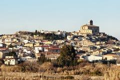 Lantligt landskap, Spanien Arkivfoto