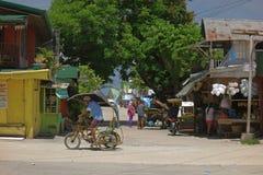 Lantligt liv i Filippinerna Royaltyfri Bild