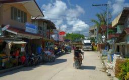 Lantligt liv i Filippinerna Royaltyfri Foto