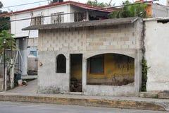 Lantligt mexicanskt hus arkivbild