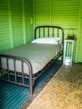 lantligt sovrum Arkivbilder