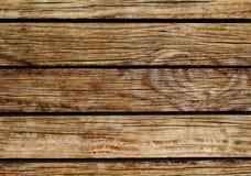 lantligt trä för bakgrund Naturlig wood textur med horisontallinjer Royaltyfri Bild