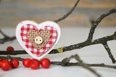 lantligt trä för hjärta Royaltyfri Fotografi