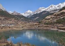 Lanuza rezerwuar w Huesca obrazy royalty free