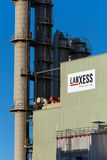 Lanxess AG at Chemical Park Leverkusen Royalty Free Stock Photography