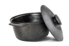 Lany żelazny kocioł Obrazy Stock