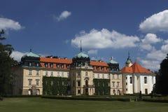 lany chateau Royaltyfri Fotografi
