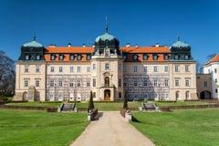 Lany-Chateau lizenzfreies stockfoto