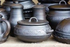 Lany żelazny cookware Zdjęcia Stock