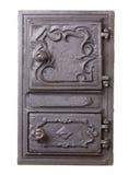 Lany żelazny drzwi dla pów Zdjęcie Royalty Free