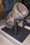 Lany metalu działo Muzeum Orsay Obrazy Stock