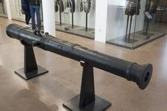Lany metalu działo Muzeum Orsay Obraz Stock