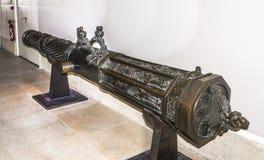 Lany metalu działo Muzeum Orsay Zdjęcia Stock