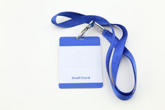 Lanyard For Badge Tag image stock