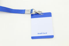Lanyard For Badge Tag Stock Photos