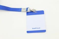 Lanyard For Badge Tag Stock Photos