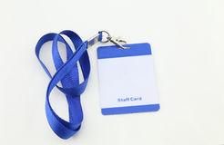 Lanyard For Badge Tag Stock Photography