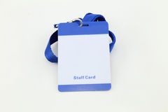 Lanyard For Badge Tag Royalty Free Stock Images