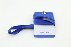 Lanyard For Badge Tag Stock Image