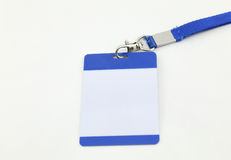 Lanyard For Badge Tag Stock Images