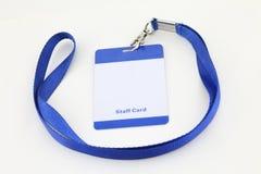 Lanyard For Badge Tag Royalty Free Stock Photography