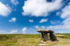 Lanyon Quoit. On Penwith Moor, Cornwall England UK Royalty Free Stock Photo