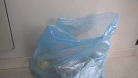 Lanza basura plástica metrajes