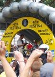 Lanza de Armstrong - Tour de France 2009 Imagen de archivo