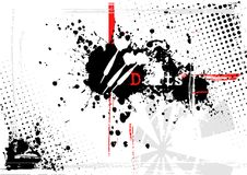 Lanza el fondo ilustración del vector